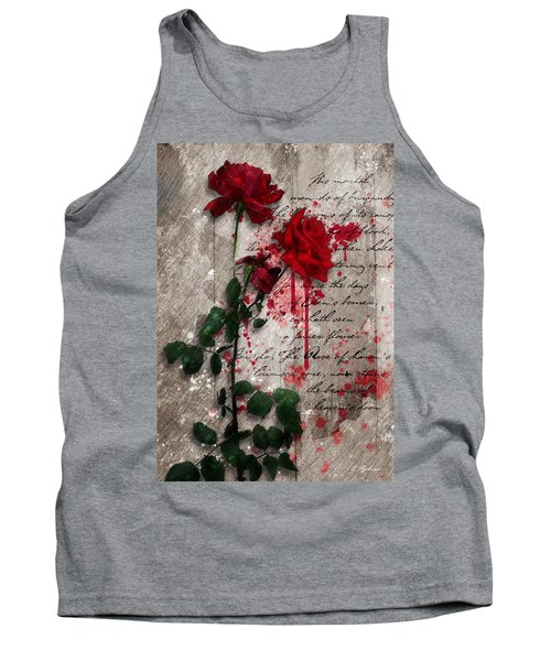 The Rose Of Sharon Tank Top by Gary Bodnar