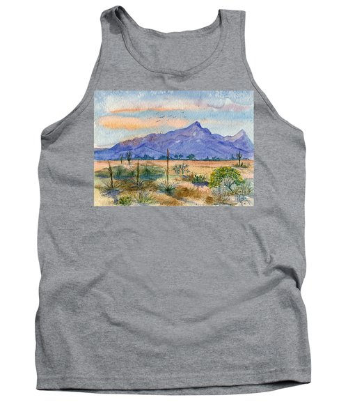 The San Tans Tank Top by Marilyn Smith