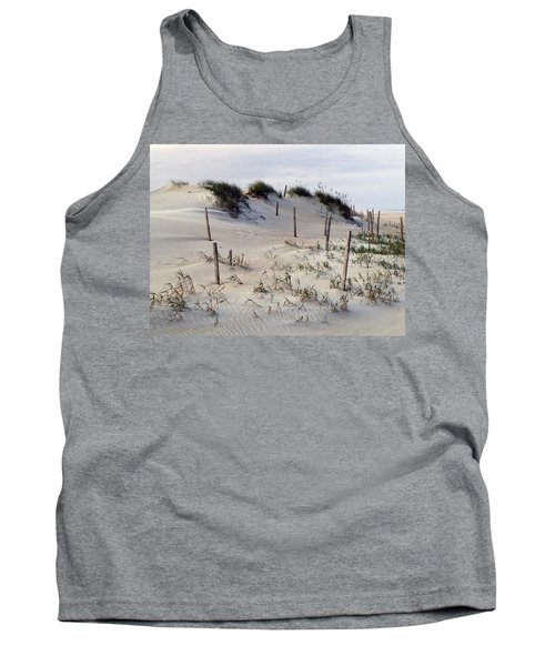 Tank Top featuring the photograph The Sands Of Obx by Greg Reed
