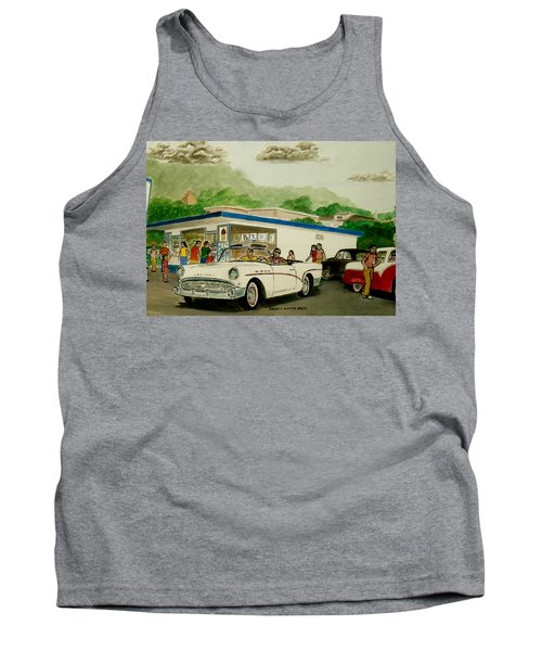 The Shake Shoppe Portsmouth Ohio 1960 Tank Top by Frank Hunter