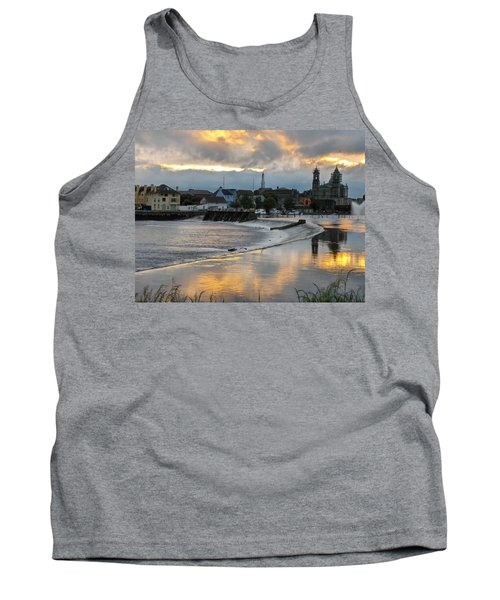 Tank Top featuring the photograph The Shannon River by Brenda Brown