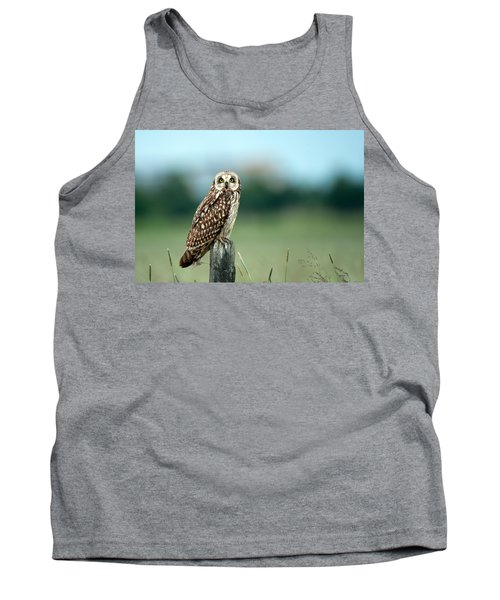 The Short-eared Owl  Tank Top