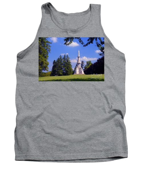 The Soldiers Monument Tank Top