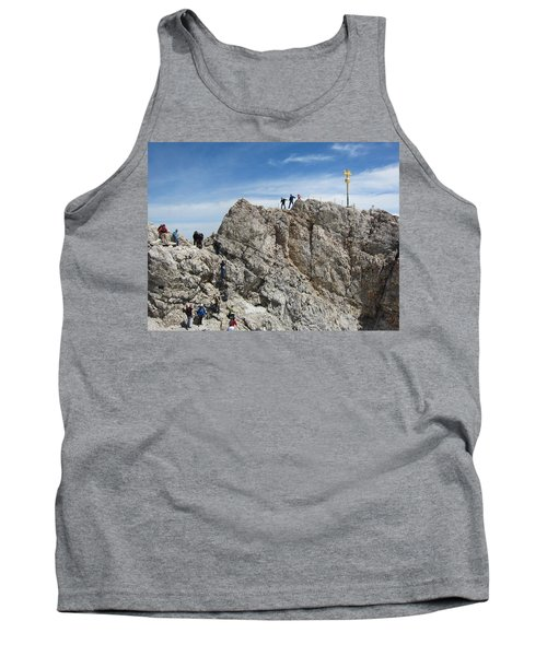 Tank Top featuring the photograph The  Summit - 1 by Pema Hou