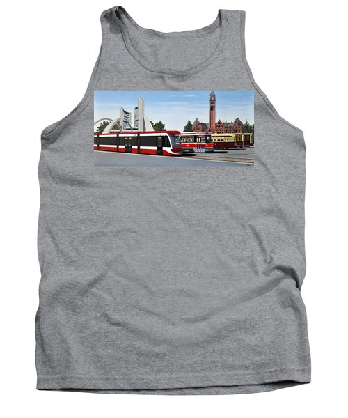 The Toronto Streetcar 100 Years Tank Top