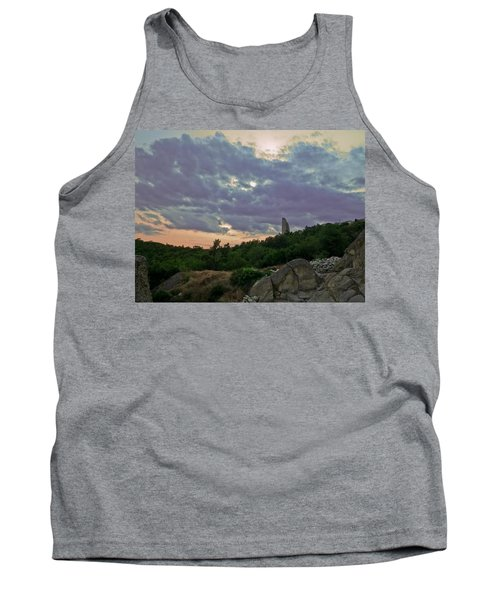Tank Top featuring the photograph The Tower by Eti Reid