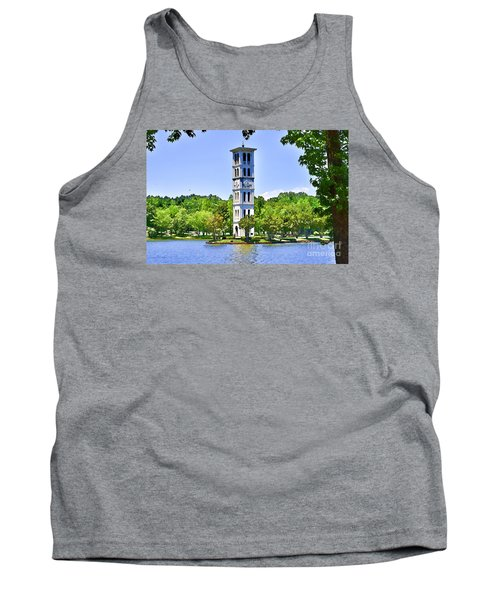 Tank Top featuring the photograph The Tower by Larry Bishop