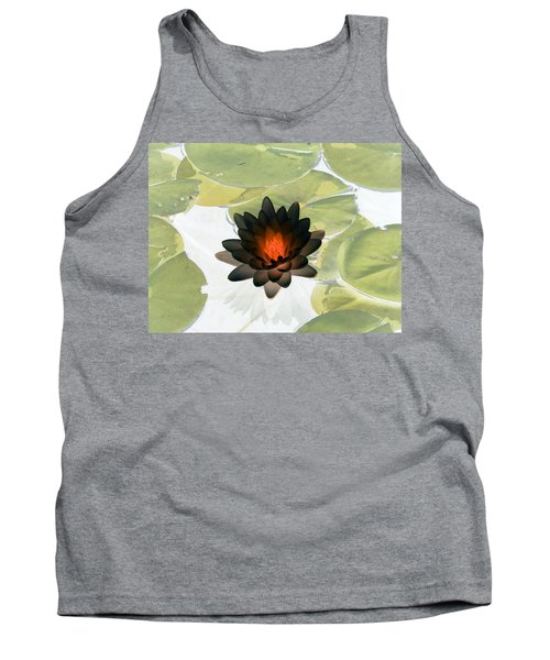 Tank Top featuring the photograph The Water Lilies Collection - Photopower 1034 by Pamela Critchlow