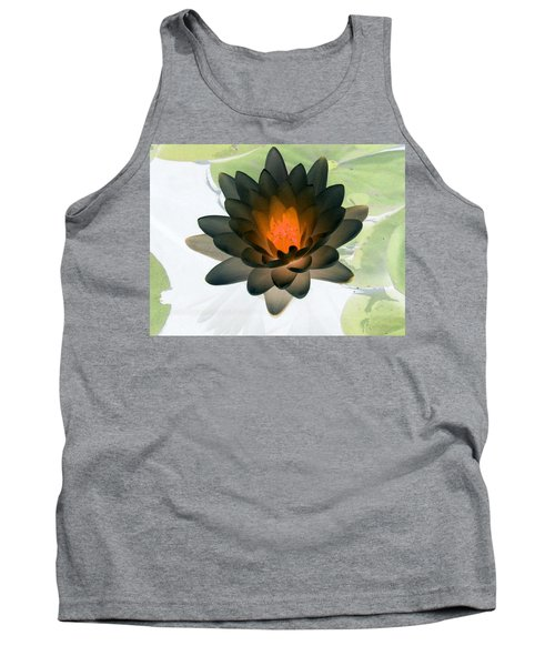 Tank Top featuring the photograph The Water Lilies Collection - Photopower 1035 by Pamela Critchlow