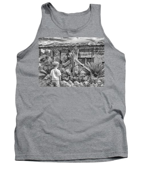 Tank Top featuring the photograph The Watering Hole by Howard Salmon
