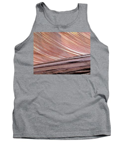 Tank Top featuring the photograph 'the Wave' North Coyote Buttes 02 by Jeff Brunton