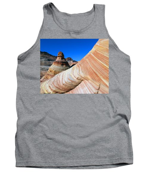 'the Wave' North Coyote Buttes 10 Tank Top