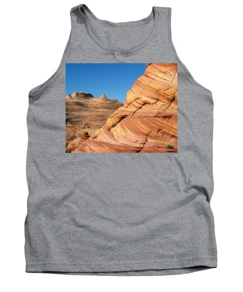 Tank Top featuring the photograph 'the Wave' North Coyote Buttes 13 by Jeff Brunton