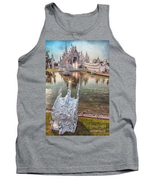 The White Temple Tank Top