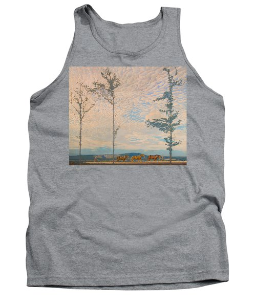 The Wooden Plough Tank Top
