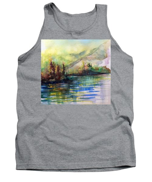 Tank Top featuring the painting Thinking Of Sargent by Allison Ashton