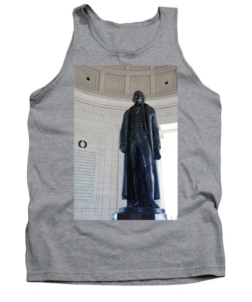 Thomas Jefferson Statue Tank Top