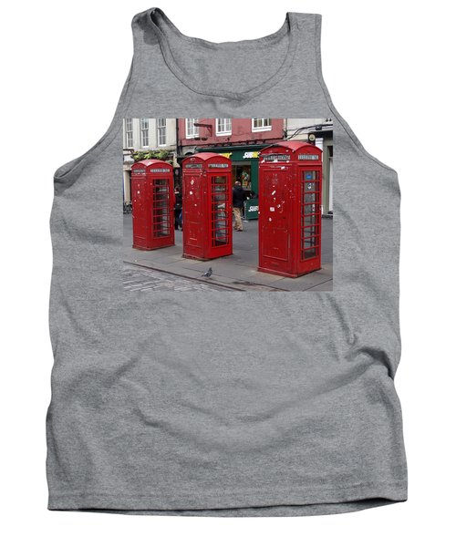 Those Red Telephone Booths Tank Top
