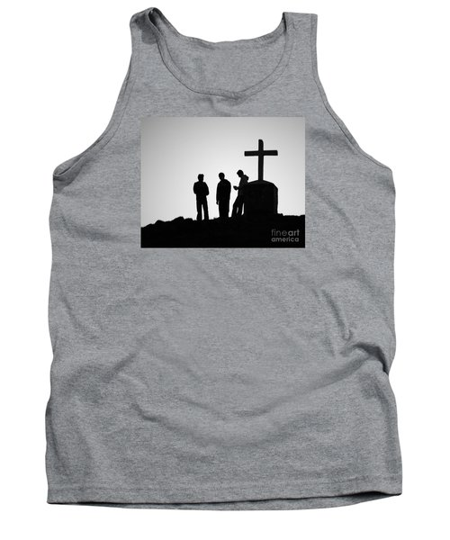 Three At The Cross Tank Top