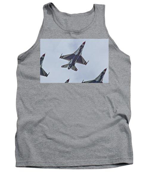 Go Go Thunderbirds Tank Top by Richard Engelbrecht