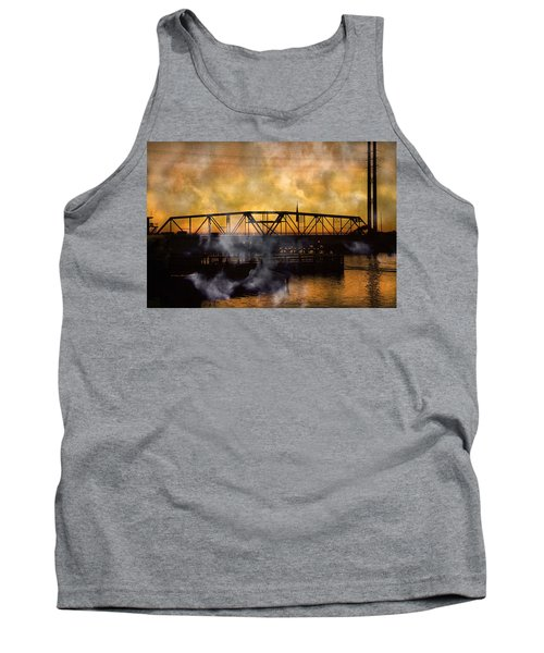 Ti Swing Bridge Ghost Tank Top