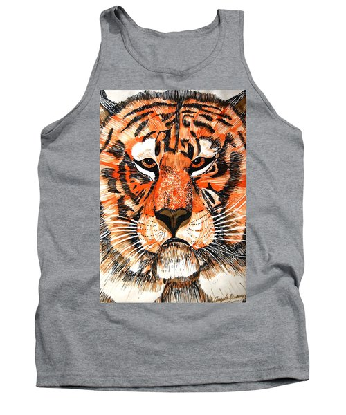 Tiger Tank Top by Angela Murray