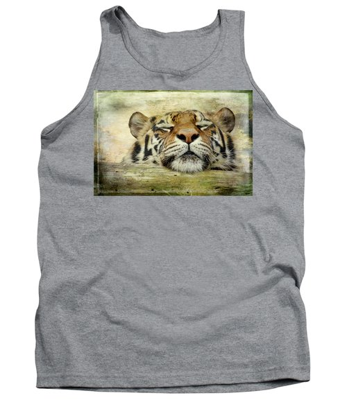 Tiger Snooze Tank Top