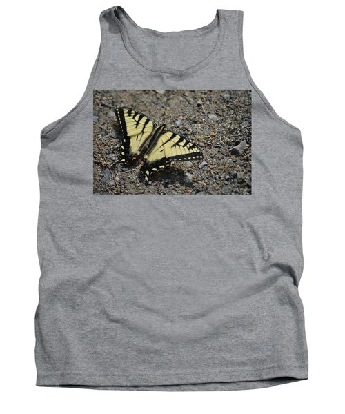 Tank Top featuring the photograph Tiger Swallowtail by James Petersen