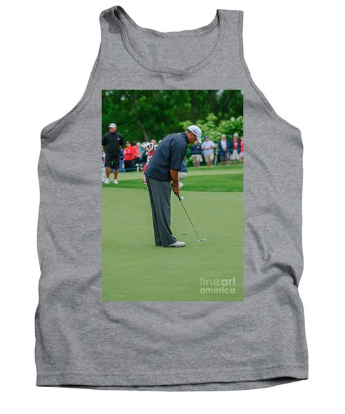 D12w-457 Tiger Woods Tank Top