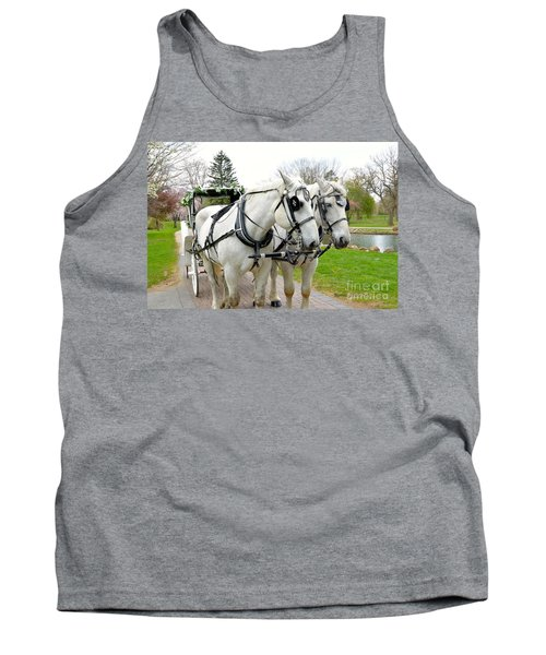 Tillie And Bruce Tank Top by Jeannie Rhode