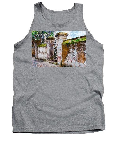 Brick Wall Charleston South Carolina Tank Top