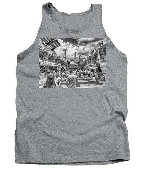 Tank Top featuring the photograph Tomorrowland by Howard Salmon
