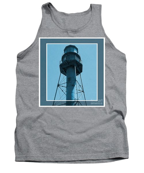 Tank Top featuring the photograph Top Of Sanibel Island Lighthouse by Janette Boyd
