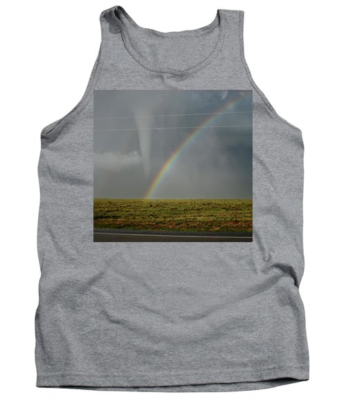 Tornado And The Rainbow Tank Top