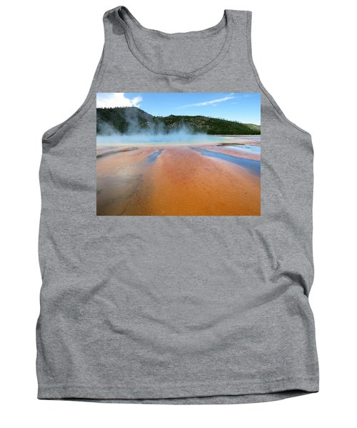Toward The Blue Stream Tank Top by Laurel Powell