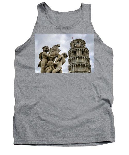 Tower Of Pisa Tank Top