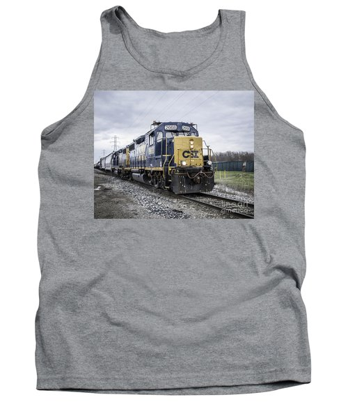 Train Engine 2668 Tank Top