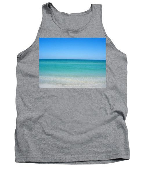 Tank Top featuring the photograph Tranquil Gulf Pond by David Nicholls