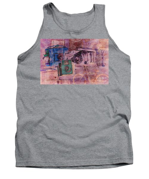 Travel Log Tank Top by Erika Weber