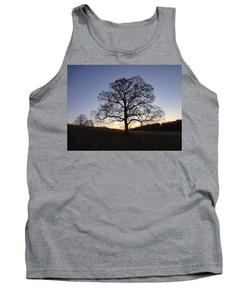 Tank Top featuring the photograph Tree At Dawn by Michael Porchik