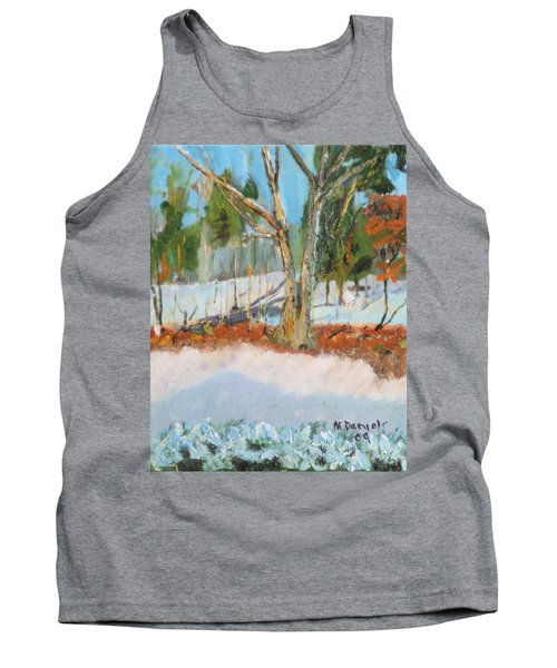 Trees And Snow Plein Air Tank Top