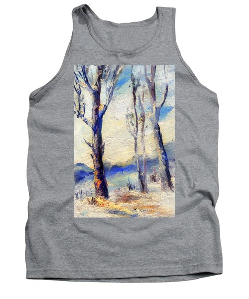 Trees In Winter Tank Top
