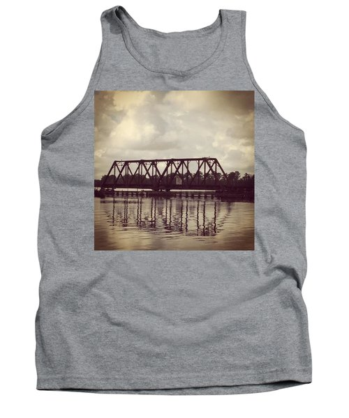 Trestle On The Pamlico River Tank Top