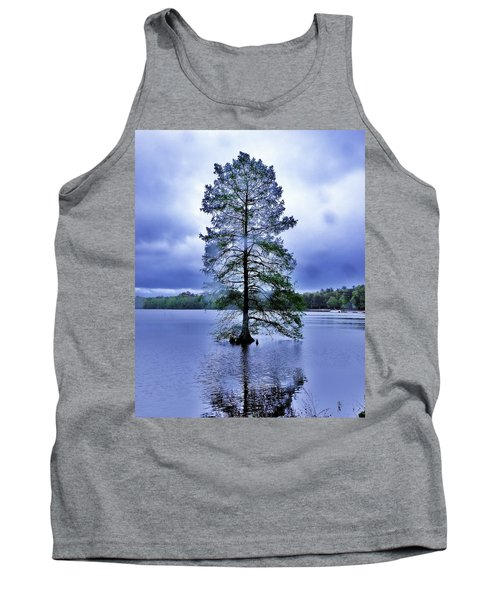 The Healing Tree - Trap Pond State Park Delaware Tank Top
