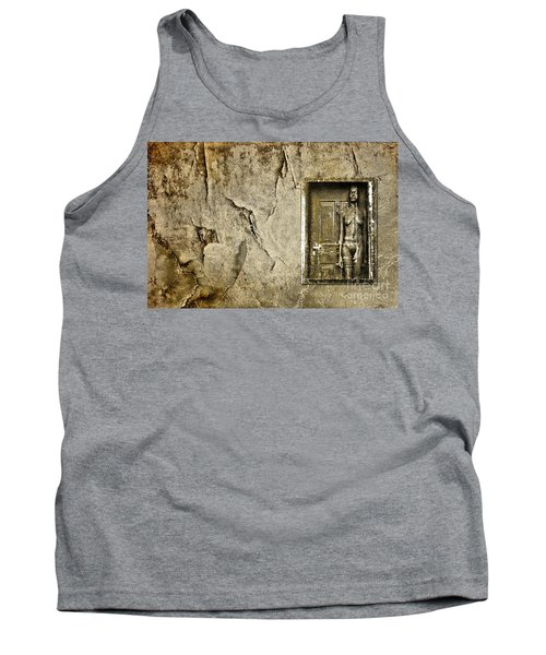 Tank Top featuring the photograph Trying To Blend In by Andrea Kollo