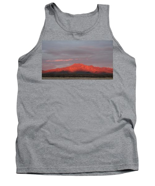 Tank Top featuring the photograph Tucson Mountains by David S Reynolds