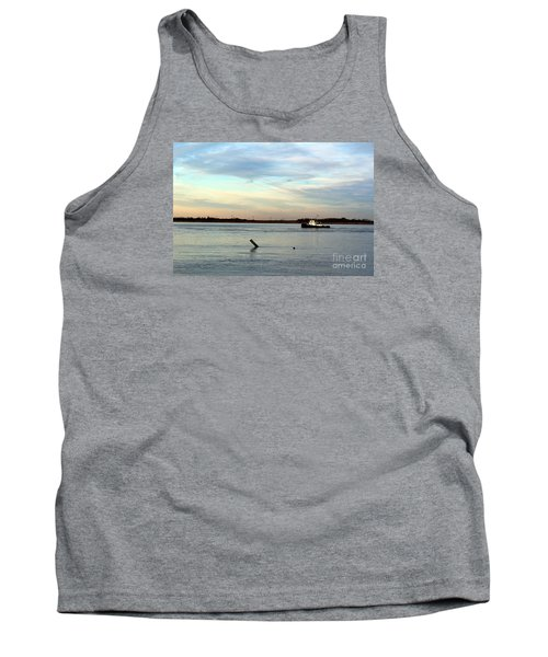 Tank Top featuring the photograph Tug Boat by David Jackson