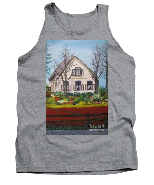 Tulip Cottage Tank Top by Martin Howard