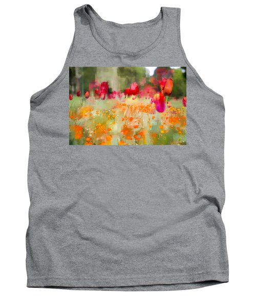 Tulips And Daisies Tank Top