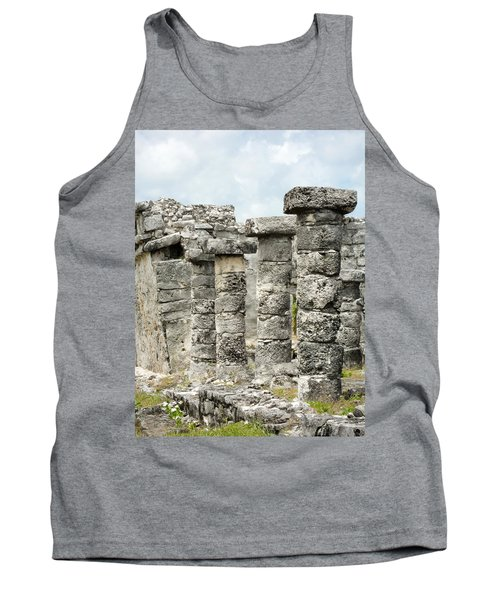 Tank Top featuring the photograph Tulum by Silvia Bruno